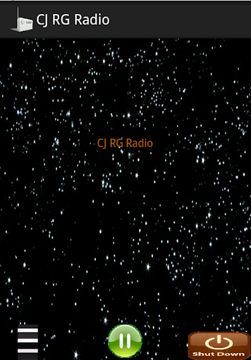 Player for CJRG Radio Gaspesie