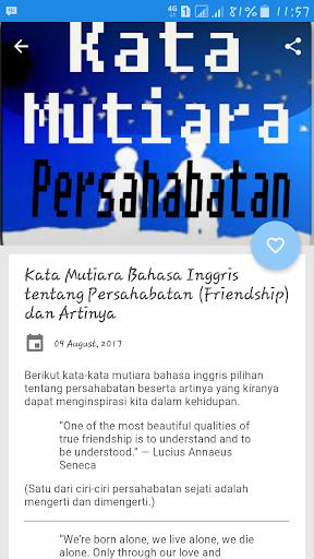 Download Kata Mutiara Persahabatan Pilihan Google Play Softwares