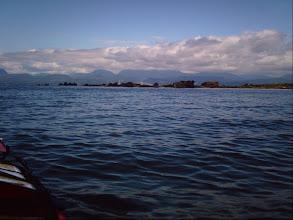 Photo: Approaching the north tip of Texada Island.