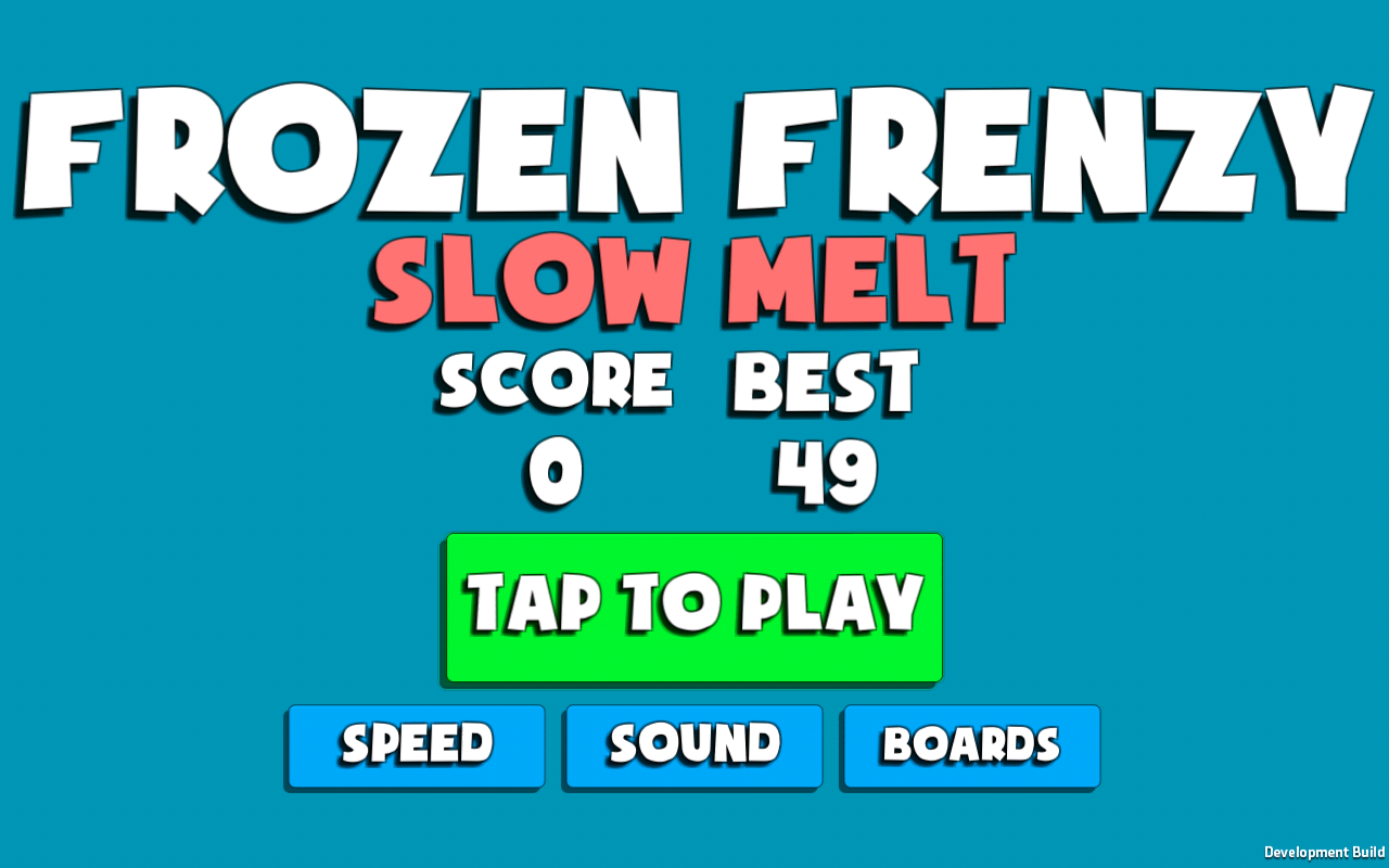 Frozen Frenzy- screenshot