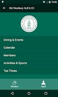 Screenshot of GHIN Mobile
