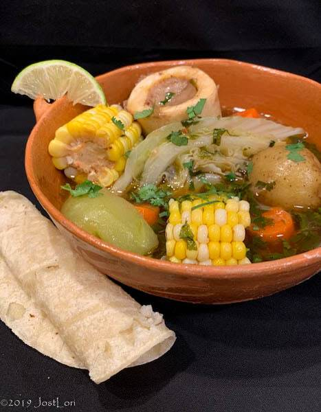 Mexican-style Beef Soup