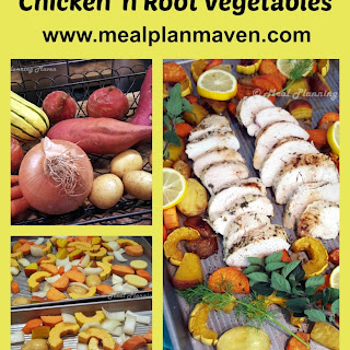 Sheet Pan Chicken 'n Root Vegetables