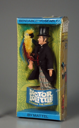 Doll:Doctor Dolittle and Polynesia the Parrot