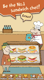 Happy Sandwich Cafe v 1 1 4 APK + Hack MOD (Money) for