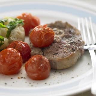 Lamb Chops with Crushed Potatoes