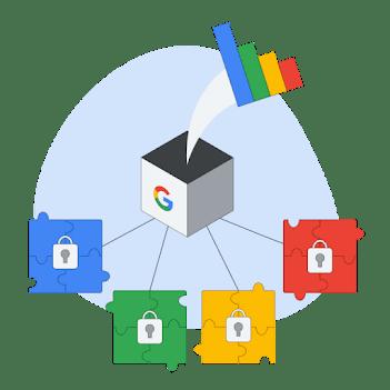 Illustration depicting secure data