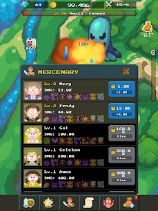 Idle Ship Heroes-clicker game MOD (Unlimited Money/Free Upgrade) 10