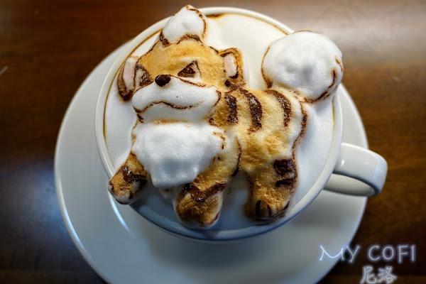 【夢想拉花咖啡館。My cofi】超人氣寶可夢 卡蒂狗