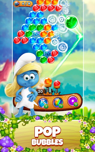 Smurfs Bubble Shooter Story 2.15.050204 screenshots 17