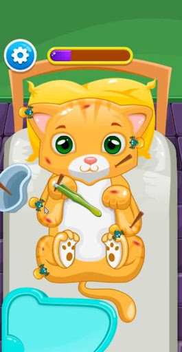 Little Cat Doctor Pet Vet Game modavailable screenshots 6