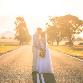The Road to Love by Sarah Sullivan - Wedding Bride & Groom ( nikon, sarah sullivan photography, wedding )