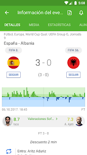 SofaScore: Resultados de Fútbol y Deportes en Vivo 3