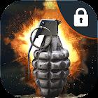 Hand Grenade Lock Screen 2018