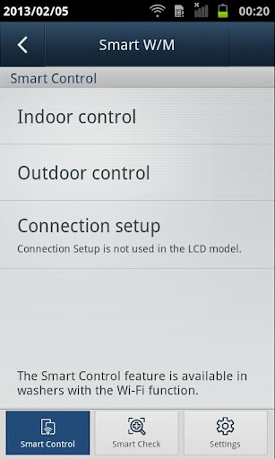 SAMSUNG Smart Washer/Dryer 2.1.38 screenshots 1