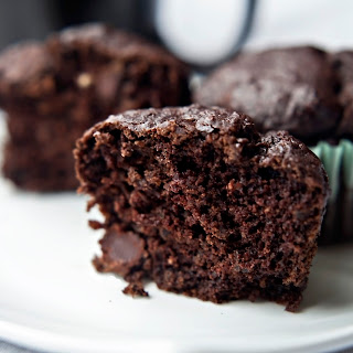 Double Chocolate Flaxseed Muffin
