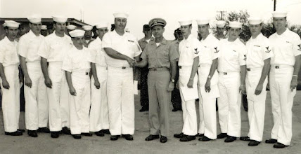 Photo: Ground Training Department Promotional Ceremony -  Mark Webb, 2nd from right  1968