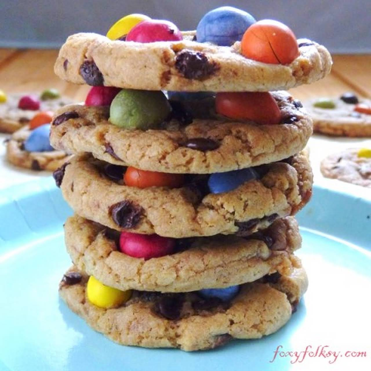 New York Times Chocolate Chip Cookies- Easter Edition