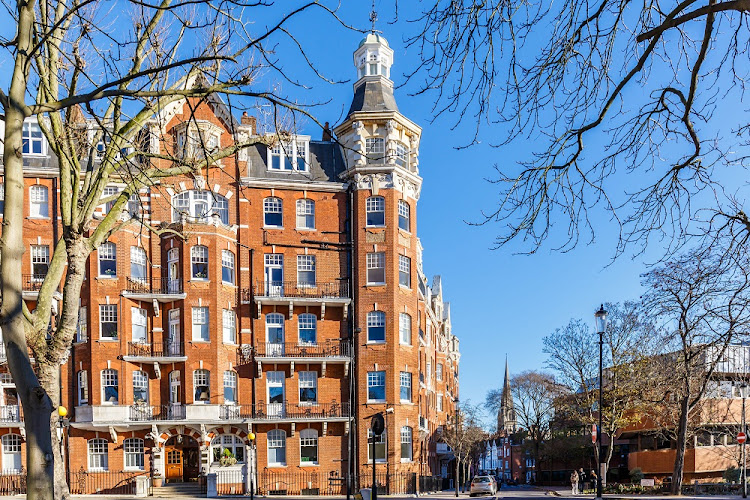 An apartment building is shown in Kensington, one of London's most affluent neighbourhoods. Picture: 123RF/ALEXEY FEDORENKO