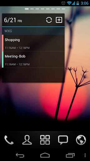 GO Calendar Widget screenshot 6