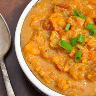 African Sweet Potato & Peanut Soup