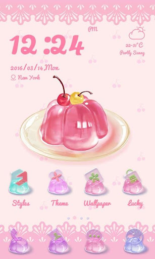 Cherry Theme - ZERO Launcher