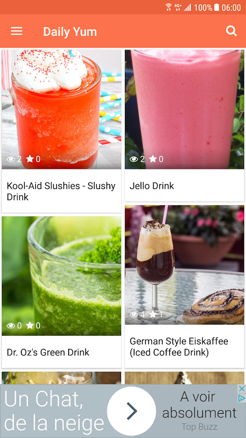 Daily Yum – Recipe & Original Cook Ideas- screenshot