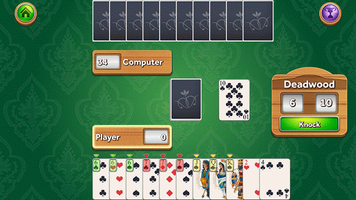 Gin Rummy Deluxe game (apk) free download for Android/PC/Windows screenshot