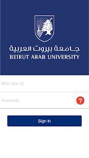 BAU Mobile App- screenshot thumbnail