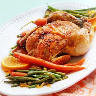 Orange Honey Roast Chicken