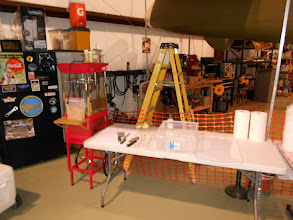 Photo: The SCHAF working area; Cantzon is building an RV here too