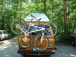 Photo: bikes on the back at buckwallow