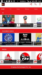 App Dialog MyTV - Live Mobile Tv APK for Windows Phone