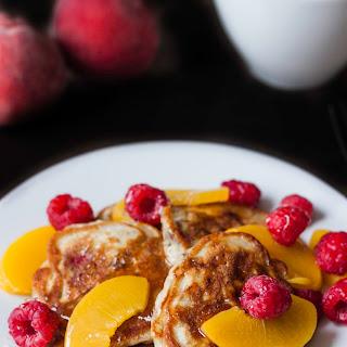 Melba Peach Pancakes