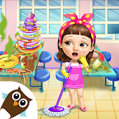 Sweet Baby Girl Cleanup 6 - School Cleaning Game