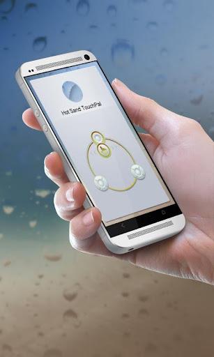 ホットサンド TouchPal テーマ