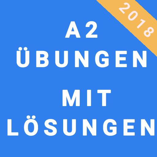Learn German A2 Test Icon