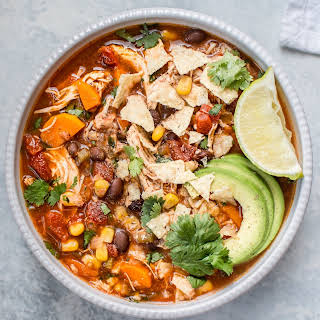 Crockpot Mexican Chicken Soup.