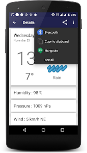 Weather Reporter screenshot 2