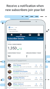 AWeber Email Stats on the Go- screenshot thumbnail