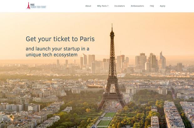 création de site internet réalisée par french tech pari