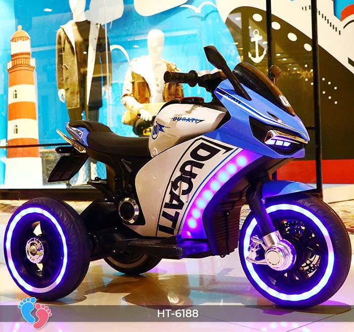 Xe mô tô điện thể thao Ducati HT-6188 5
