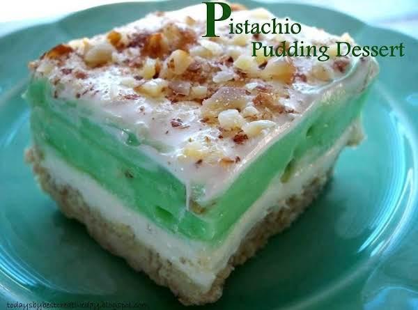 Pistachio Pudding Dessert Recipe