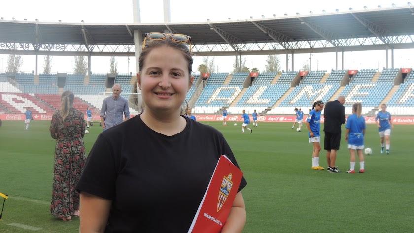 Rocío Muñoz, coordinadora del Almería femenino.