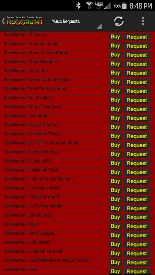 Reggae141- screenshot