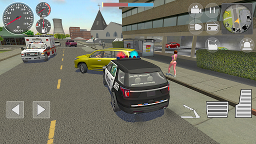Police Cop Simulator. Gang War apkmr screenshots 1