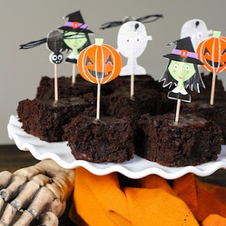 Trick or Beet Brownies