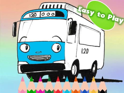 toya little bus coloring game apk download apkpure co
