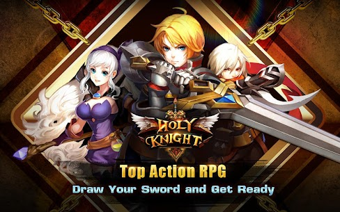 Holy Knight MOD 1.1.600 (God Mode/Massive Dmg/Weak Enemies) Apk 9