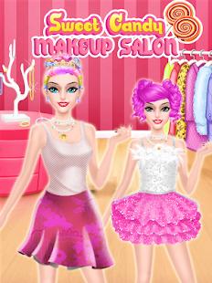 Candy Makeup Artist - Sweet Salon Games For Girls - náhled